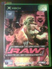 WORLD WRESTLING WW RAW XBOX COMPLETO!