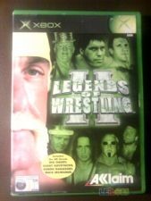 LEGENDS OF WRESTLING 2 II XBOX COMPLETO!