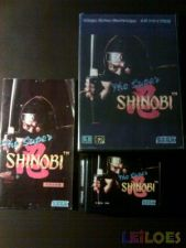 THE SUPER SHINOBI Jap md COMPLETO