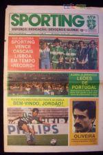 JORNAL DO SPORTING Nº 1948 - 1985