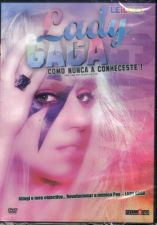 DVD: Lady GAGA Como Nunca a Conheceste! - NOVO! SELADO!