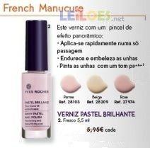 Verniz Pastel Brilhante Parme, Yves Rocher - NOVO!
