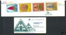 1981 - Carteira Flores Madeira - Nova (**) - AF 1537 - 1540