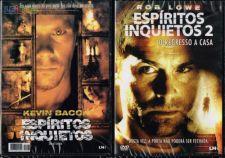 2 Filmes em DVD: ESPIRITOS INQUIETOS 1 e 2 - NOVOS! SELADOS!