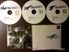 FINAL FANTASY VII 7 PS1 xr JAP COMPLETO