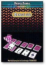 Baralho de Cartas 10 Exact Cuts Henry Evans (Para Magia)