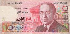 10  dirhams   MARROCOS