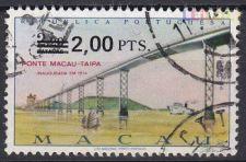 1979 - Macau - Pontes c/sobretaxa - Usado - AF 448