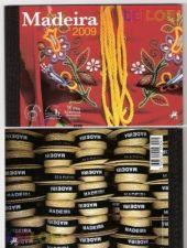 2009 - Carteira anual Madeira com selos e Blocos