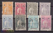 1922 - S. Tomé - Ceres - Lote - AF 248 - 257