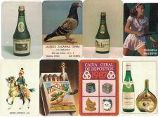 Lote 10 Calendários Publicitários - 1987