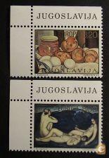 Jugoslávia 1479/1480 série nova** EUROPA