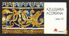 CADERNETA AF. 90 **  AZULEJARIA PORT. NOS AÇORES - 1994