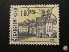 Tchecoslovaquia 1444 usado