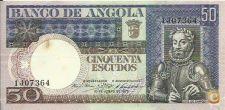 ANGOLA - 50 ESCUDOS - 1973 - 1J 07364 - CIRCULADA