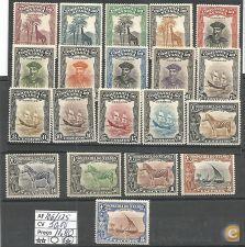 1921/23 Motivos Diversos Serie Nova Com Charneira *