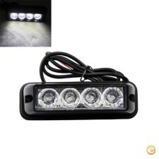 LED203 - Kit Luzes LED emergência reboques Strobes brancos