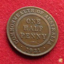 Austrália 1/2 penny 1921  w