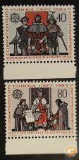 Liechtenstein 732/733 série nova** EUROPA