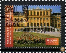 NAÇÕES UNIDAS (VIENA) - SCOTT 341 (o)  TURISMO - 2004