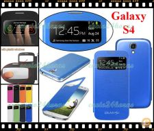 Flip case azul Samsung Galaxy S4 SIV GT-I9500 GT-I9505