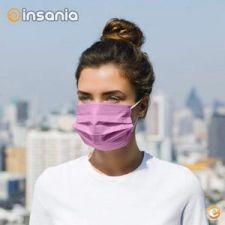 Máscara de Proteção Descartável POPme Pink (Pack 5)