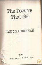 The Power That Be - David Halberstam (1979)
