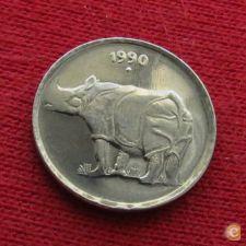 Índia 25 paise 1990 (B) KM# 54  *V