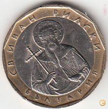MOEDA DA BULGÁRIA, 1 LEV DE 2002