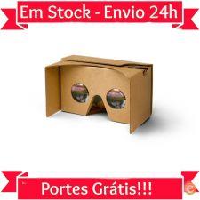 T316 Óculos de Realidade Virtual VR Google Cardboard Stock