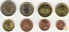 Italia 2006 set completo 8 moedas 1 cent - 2 Euro UNC