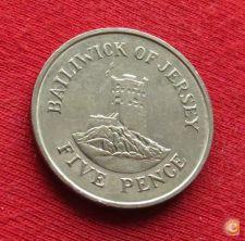 Jersey 5 pence 1985 KM# 56.1   *V2