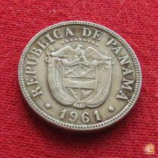 Panamá 5 centesimos 1961 KM# 23.1   *V