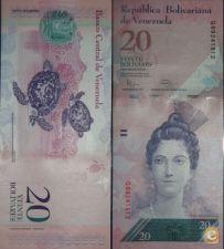 VEN091d - VENEZUELA - 20 BOLIVARES - 2011