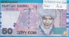 0127 KYRGSTAN 50 COM  2002 NOVA