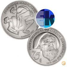 Ek # 7,50 euro Prata Portugal 2021 Fernão Magalhães