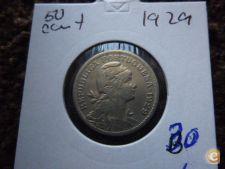 FO 32 $50 1929 ALPACA RARA BONITA