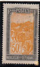 SELO DE MADAGASCAR, 1922/26, - YVERT Nº 139
