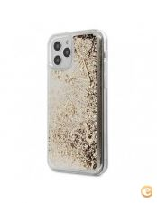 Capa Traseira Charms Colletion Guess Iphone 12 Mini - Dourad