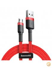 Cabo Baseus Cafule Micro USB 2M - Vermelho