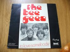 The Bee Gees - To Love Somebody psychedelic pop LP