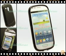 Capa case cover S-Line gel silicone Galaxy S3 Mini GT-i8190