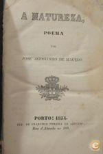 A Natureza Poema 1854 José Agostinho De Macedo
