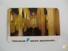 Calendário Seguros Fidelidade Delegação de Santarém 1980