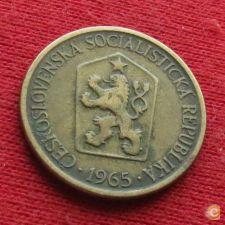 Checoslováquia 1 koruna 1965 KM# 50  Lt 470 *V