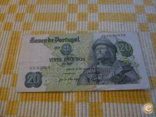 5959 PORTUGAL GARCIA DE ORTA 20$00 1971 CIRCULADA