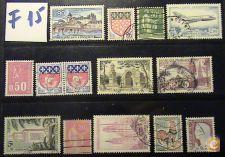 França selos usados