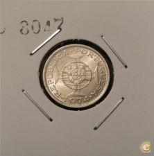 AGM46 1974  2$50 - 2.5 Escudos Cupro-Níquel (Angola)