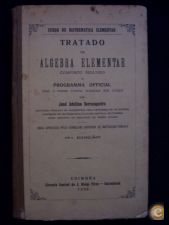 TRATADO DE ÁLGEBRA ELEMENTAR -JOSÉ ADELINO SERRASQUEIRO 1936