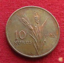 Turquia 10 kurus 1973 KM# 891.2     *V